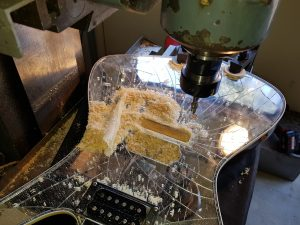 Custom guitar work