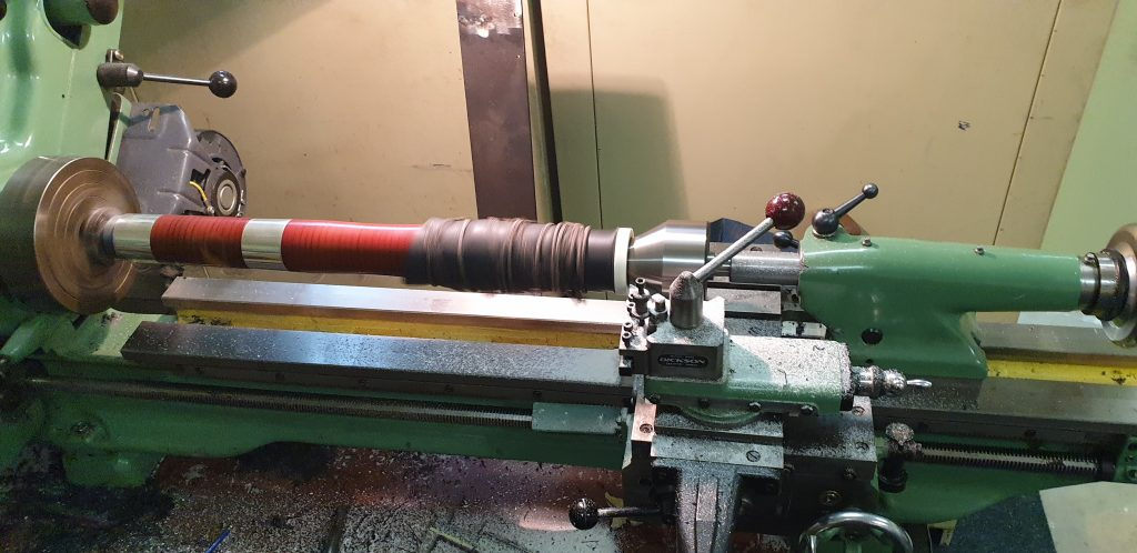 Heckel Bell in the Lathe